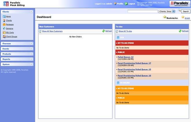 Parallels Plesk Billing Manager O Sistema de Faturamento ModernBill Plesk Revitalizou sua Marca Comercial
