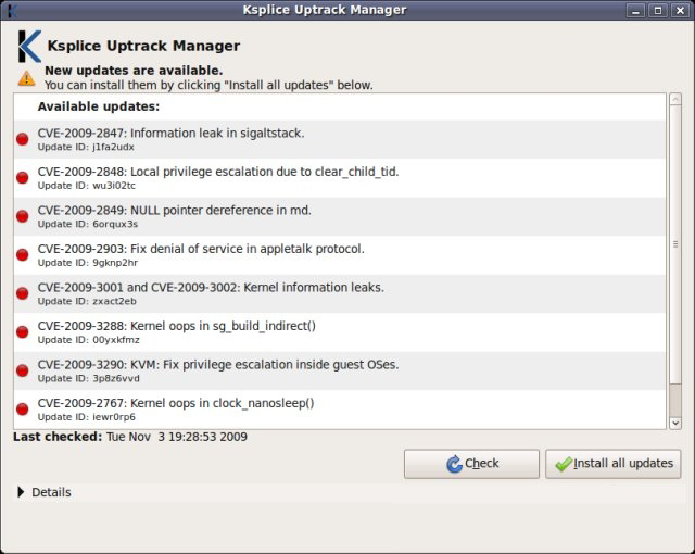 Ksplice Install Updates Ksplice – Who uses it and what is their Feedback?