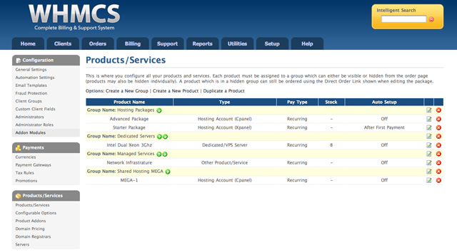 WHMCS Products and Services Extend Your Billing Systems with Customized WHMCS Plug Ins