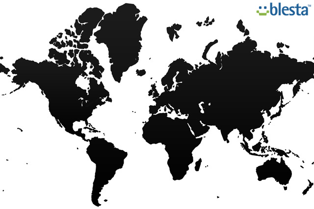 worldmap blesta Blesta Lança Utilitário Linguístico